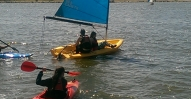 sailing and kayaking