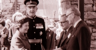 Royal opening of 4 KORB LL Sir Charles Graham, Brig Dennis Ormerod
