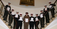 Cdt Sgt Monoghan with Sea Cadets
