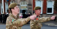 Cdt Sgt M and SSI Cheetham