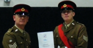 SSI Cheetham and Cdt Sgt M