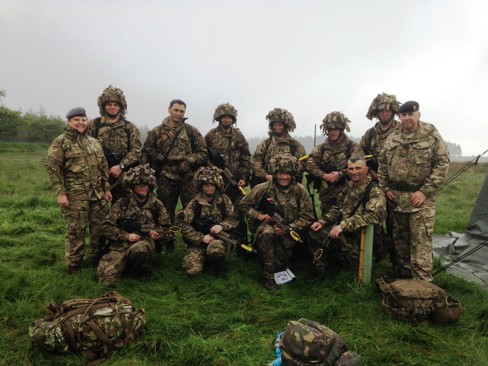 Mersey Medics' Triumph at the Army Medical Services Tactical