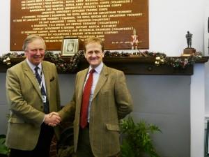Lt Col Ian Sawers and Col Alex Barnes