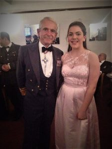 Air Marshall Miller with 2468 Squadron Cadet