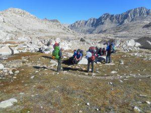 Evolution Basin all above 11,000 feet
